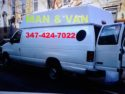 1-2 movers w large van.Small & Medium  move / pick up /delivery  347-424-7022