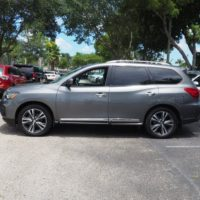 2017 Nissan Pathfinder Platinum for sale