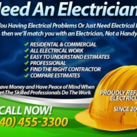 NEED ELECTRICIAN? - TRUE ELECTRICIANS WON'T LET THE LIGHTS GO OUT :) - Call Us