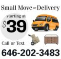 NYC Area Small Move or Furniture Delivery (Brooklyn & NYC Area)