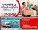 2 Movers $59hr & Free Truck ($165 Small Move Special) Moving Company (Northern Virginia, Fairfax, Arlington, Loudoun And Faquier M)