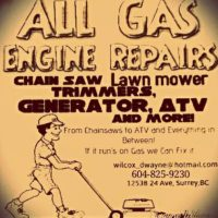 Dwayne's All Gas Engine Repairs (White rock/south surrey)