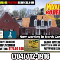 ☎️ ROOF Replacement | Call Mario's Roofing ☎️ *** We Beat Any Price*** (NOW WORKING IN NORTH CAROLINA. * Only $175.00 sqr.)
