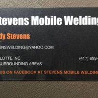 Stevens Mobile Welding (CHARLOTTE - GASTONIA - ROCK HILL)